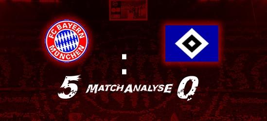 Matchanalyse – 1.Spieltag – FCB – Hamburger SV 5:0