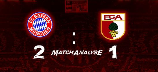 Matchanalyse – 4.Spieltag – FCB – FC Augsburg 2:1