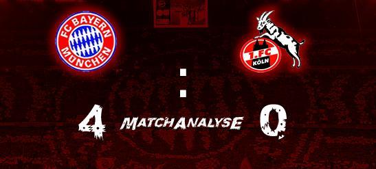 Matchanalyse – 1.FC Köln 4:0 – Riegel geknackt mit Biss –