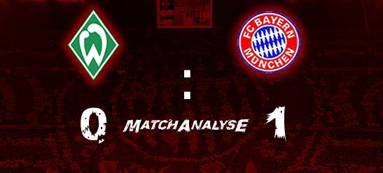 Matchanalyse – Werder 1:0 – Zähes Angriffsspiel –