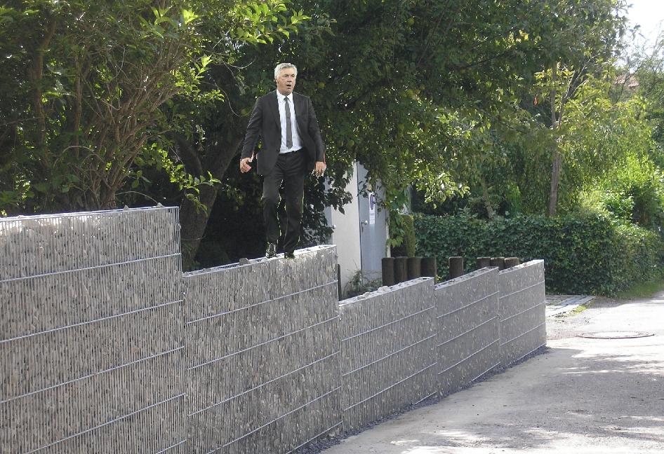 Ancelottis dünne Mauer