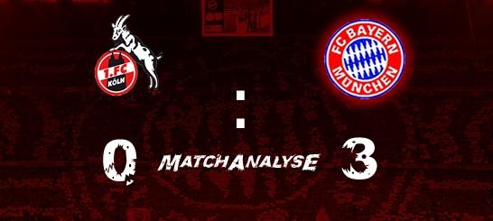 Matchanalyse – 23.Spieltag – 1.FC Köln – FCB 0:3 (0:1)