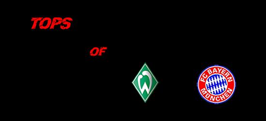 TOPS of Werder – FC Bayern 0:2