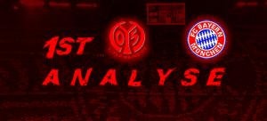 Strafraum wohl tabu – Matchanalyse – 20.Spieltag – Mainz 05 – FCB 1:3